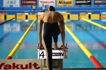 Swimmer Rachel Komisarz